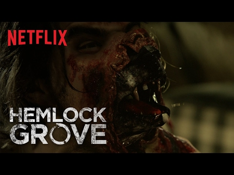 """Hemlock Grove """"The Monster is Within"""" Transformation [HD]   Netflix"""
