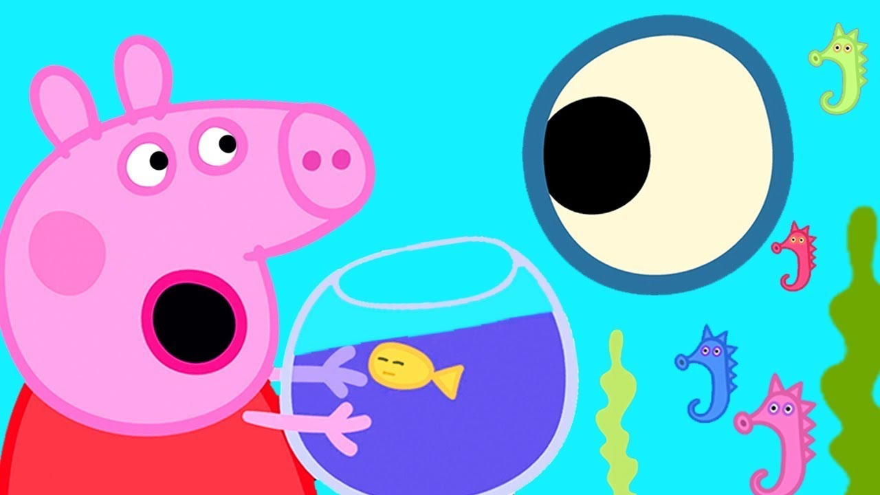 Peppa Pig Português Brasil | Oceano! | Desenhos Animados