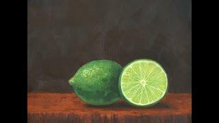 Cómo pintar limones - Fruta - Bodegón