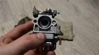 Разборка и диагностика карбюратора китайской мотокосы 26-33 cc