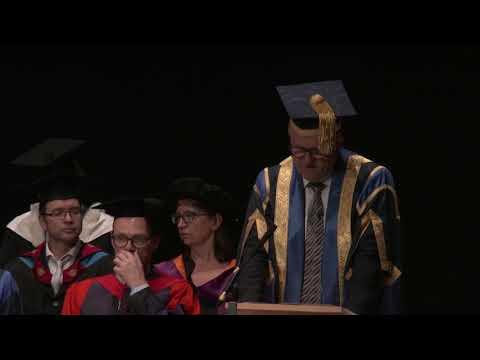 Cambridge graduation ceremony (3pm), 18 October 2017
