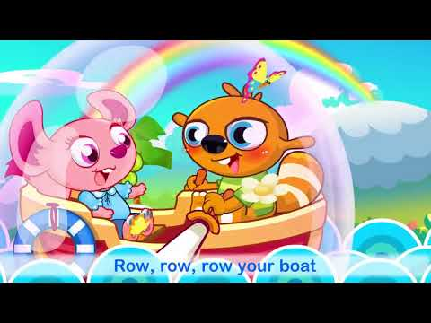 Row Row Row Your Boat Sing Along for Kids & ESL Students