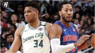 Milwaukee Bucks vs Detroit Pistons - Full Game Highlights   February 20, 2020   2019-20 NBA Season