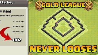 Clash of Clans - Town Hall 5 Defense (CoC Th5) Trophy / War Base | BEST TH5 Defense Strategy