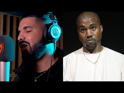 """Drake Spits New Freestyle Going At Kanye West.... """"They Wanna Link Up When They Ain't Got Hits"""""""