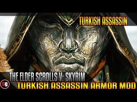 skyrim ezio armor mod