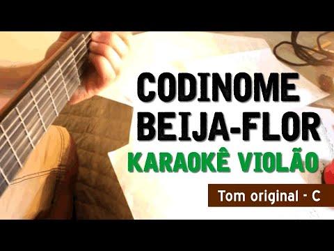 Codinome Beija-flor - Cazuza - Karaokê Com Violão