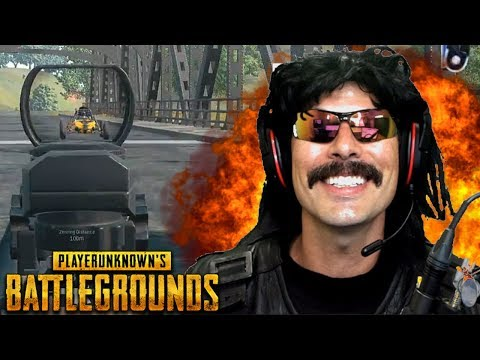 "Doc's ""First Ever Game"" on First Person Servers on PUBG!"