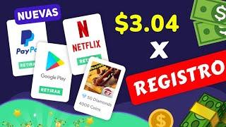 PORFIN!!🔥Cómo Ganar $3.04 HOY MISMO [+PRUEBAS]💥3! Aplicaciones para GANAR DINERO en Paypal - 2021