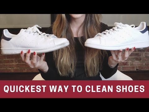How To Quickly Clean Your Dirty Shoes & Sneakers