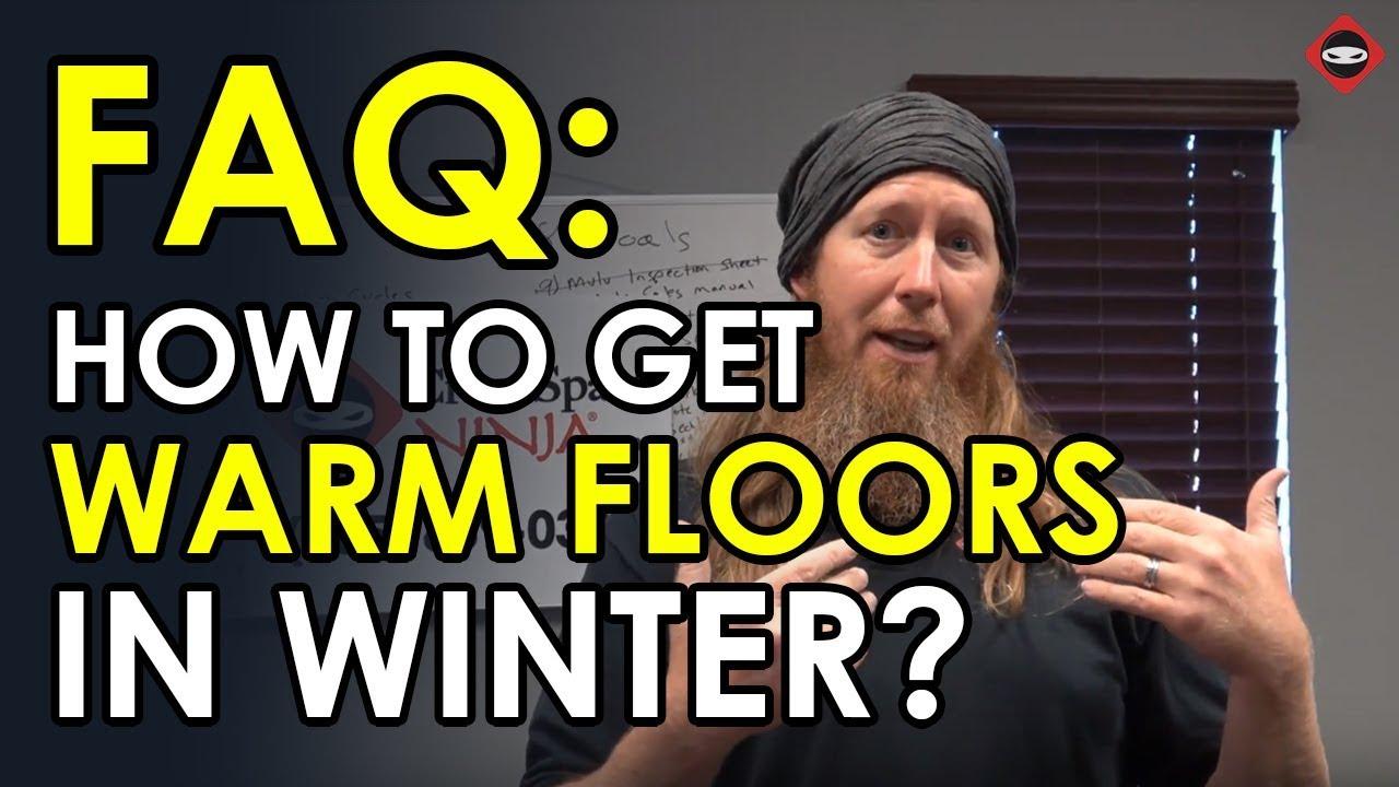 Will Spray Foam Insulation Make Floors Warm Crawl Space