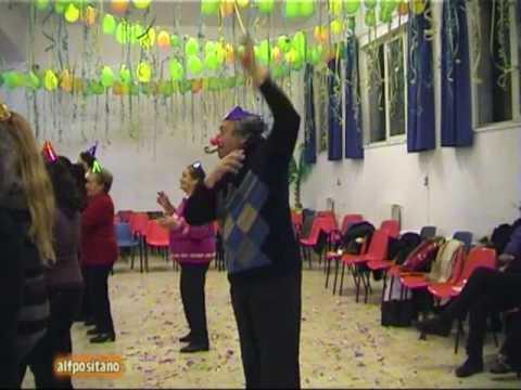Positano Amalfi Coast Carnevale degli Anziani 2009