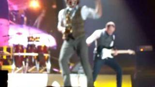 Spandau Ballet - Chant No.1 /Paint me Down at Newcastle Metro Arena 26/10/09