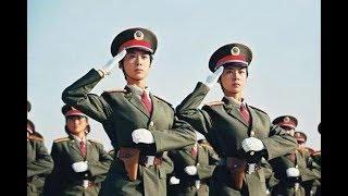 解放军最震撼的一次阅兵 整齐的咔咔咔后 外国人看傻了