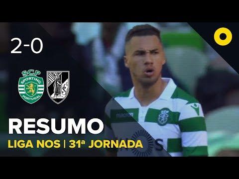 Sporting 2-0 V. Guimarães - Resumo | SPORT TV