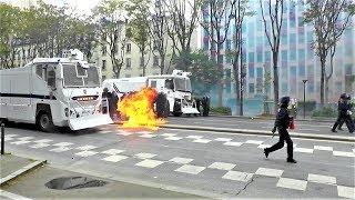 Graves incidents pendant la manifestation du 1er mai 2018 à Paris
