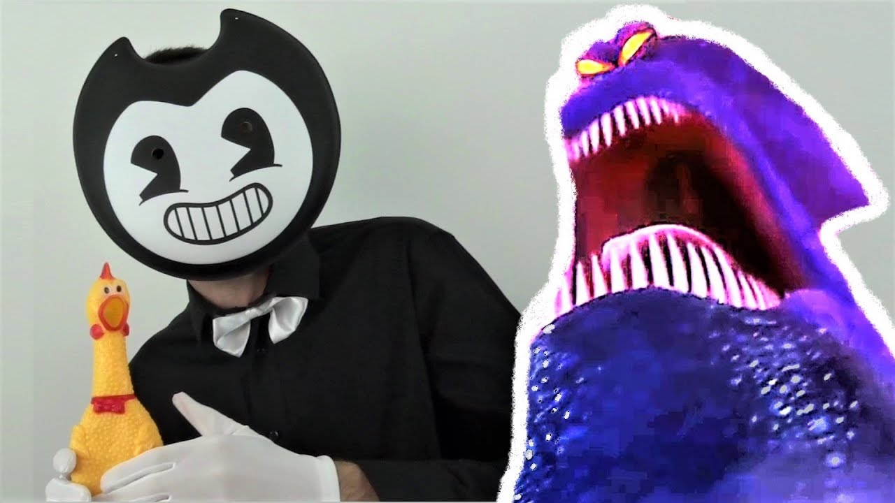 b5f258f65f0 Bendy plays the kraken song hey macarena on a sheep and a chicken jpg  1280x720 Hey
