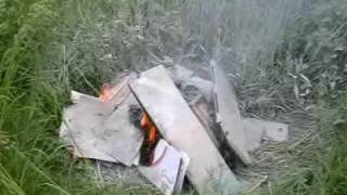 Тест порошкового закачного огнетушителя ОП-4(, 2009-06-14T14:17:02.000Z)