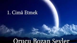1-Cima Etmek - Orucu Bozan Şeyler  - Emrah Orhan Kurugöllü