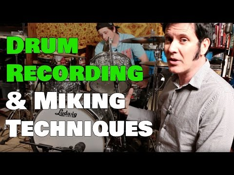 Drum Recording & Miking Techniques - Warren Huart: Produce Like A Pro