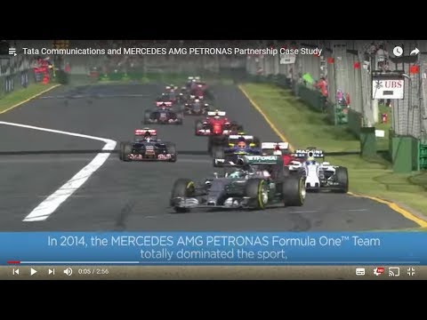 Tata Communications and Mercedes AMG Petronas power innovation and deliver a competitive advantage