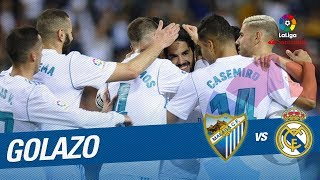 Golazo de Isco (1-0) Málaga CF vs Real Madrid