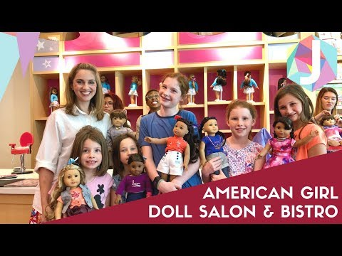Visit To American Girl Atlanta Doll Salon And Bistro