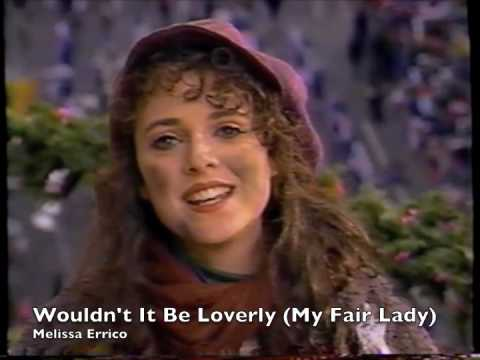 Melissa Errico - Wouldn't It Be Loverly - MY FAIR LADY (1993 Macy's Thanksgiving Day Parade)