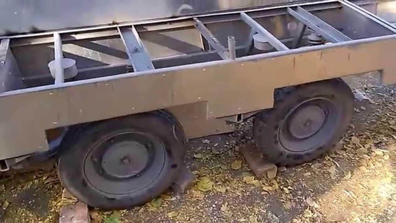 МЗСА 817735 - кузов 4,5 м. Двухосный легковой прицеп. Категория В .