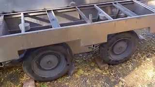 Прицеп двухосный. Beekeeping trailer