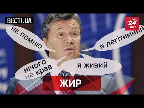 Вєсті.UA. Жир. Янукович