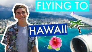 FLYING FIRST CLASS TO HAWAII // Kauai Vlog Day 1