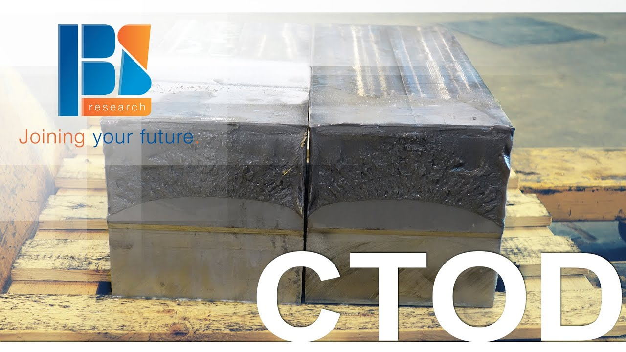crack opening displacement steel