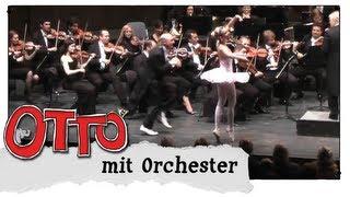 """Iris Düx und Otto Waalkes tanzen Ballett: """"Die diebische Elster"""" von Rossini"""