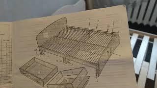 Сборка кровати. Домашний мастер.Рабочие будни. Очень дешёвая кровать...