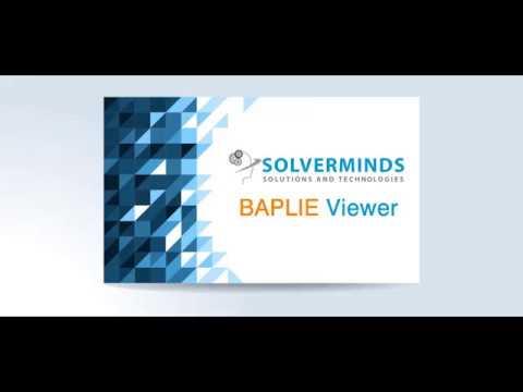 BAPLIE Viewer Download | BAPLIE EDIFACT - Solverminds