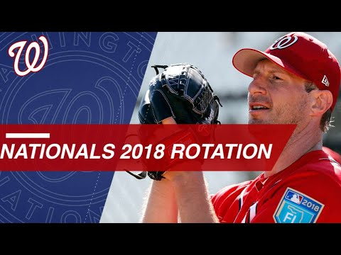 Take a look at the projected 2018 Nationals rotation