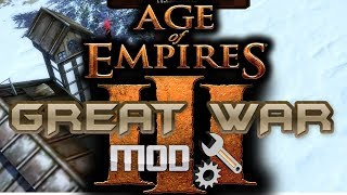 Great War Mod for Age of Empires III Wars of Liberty First look