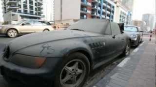 Abandoned Cars in Dubai(Abandoned luxury cars left at airports across the United Arab Emirates may not entirely be the fault of expats escaping tough debt laws., 2013-03-25T10:34:24.000Z)