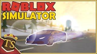 Danish Roblox | Vehicle Simulator-Runs off from the police!