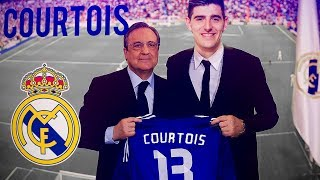 Thibaut Courtois - Welcome to Real Madrid - Amazing Saves Show 2018 |HD|