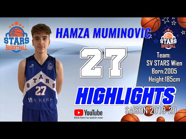 Stars Highlights Factory : HAMZA MUMINOVIC Saison 2019-20