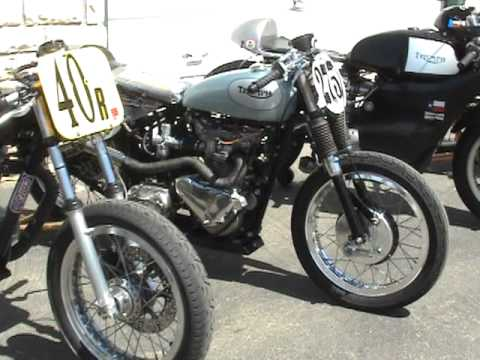 Vintage Triumph Bike 88