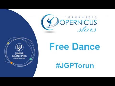2015 ISU Jr. Grand Prix - Torun Free Dance