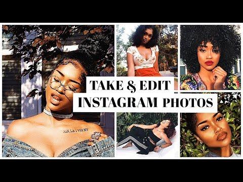 How I Take & Edit My Instagram Pics (Bri Hall)