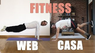 Lezioni di FITNESS - WEB vs CASA