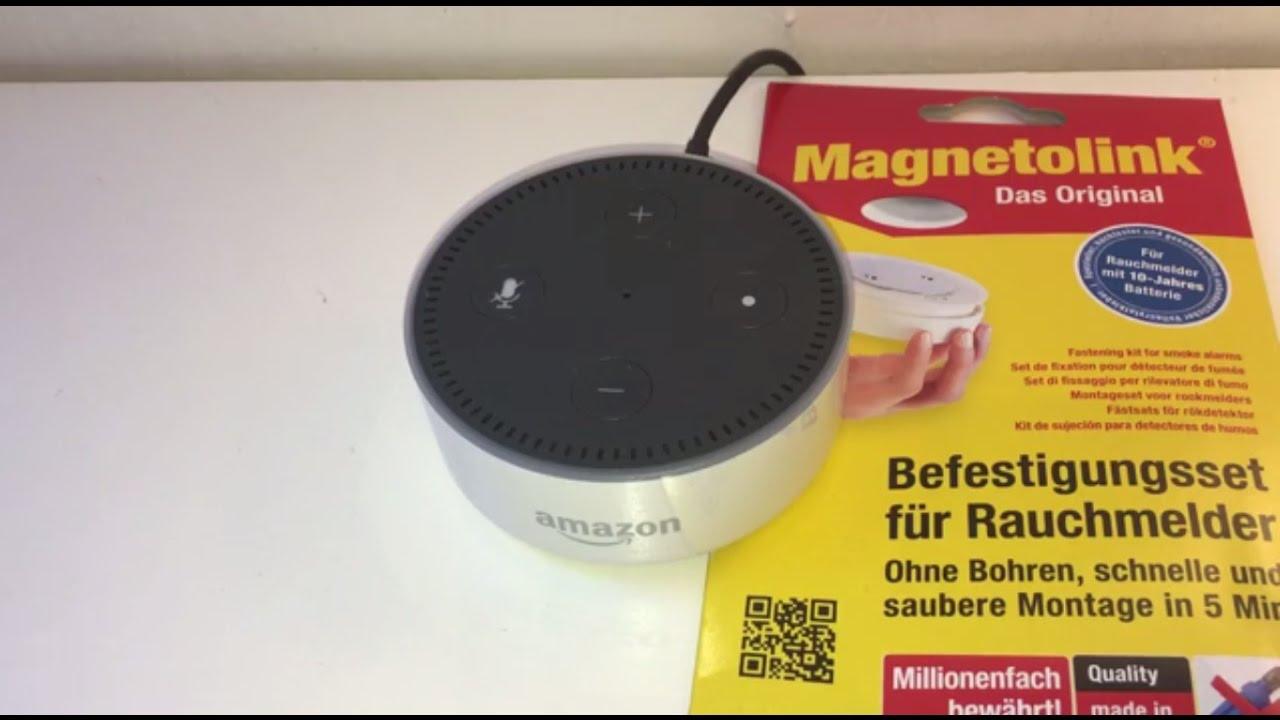 Amazon Echo Dot Vier kreative Aufstellmöglichkeiten