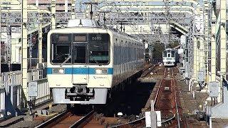 小田急線新ダイヤを前に@快速急行登戸通過