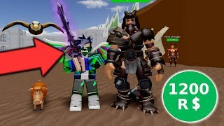 ⭐ I BECAME A WARRIOR FOR 1200 ROBUX! | ⭐ ROBLOX