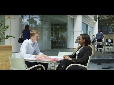Meet Bernadette and Louis two Procurement placement students